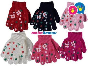 перчатки 4-5-6 лет